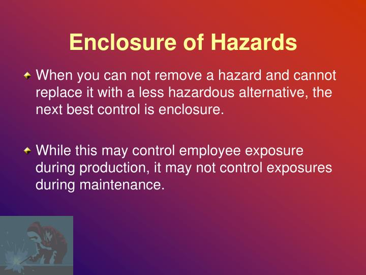 Enclosure of Hazards