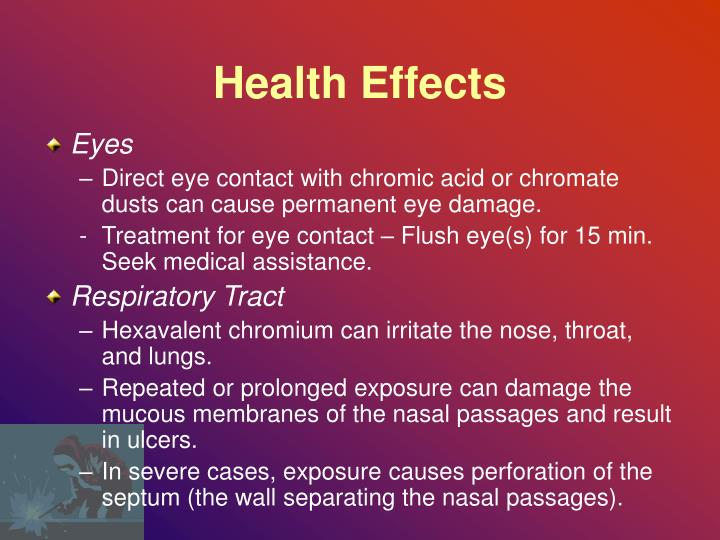 Health Effects