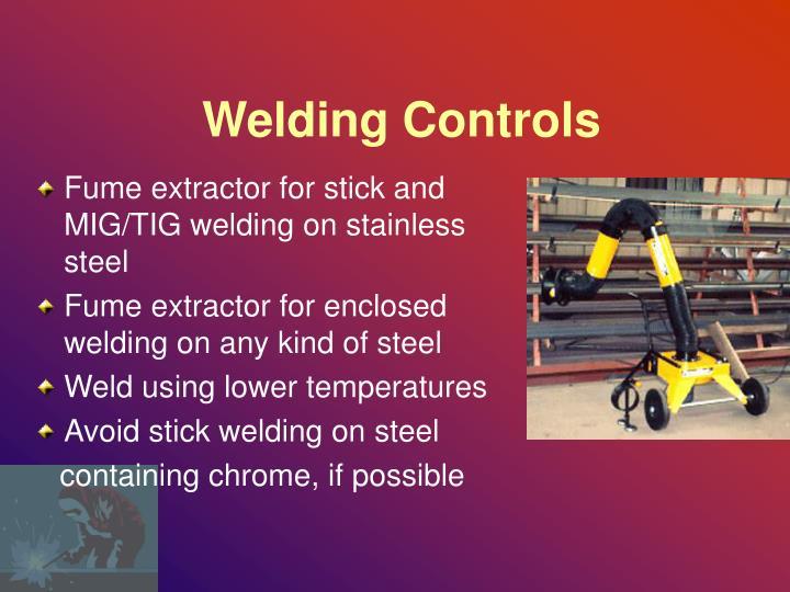 Welding Controls