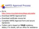 aafes approval process