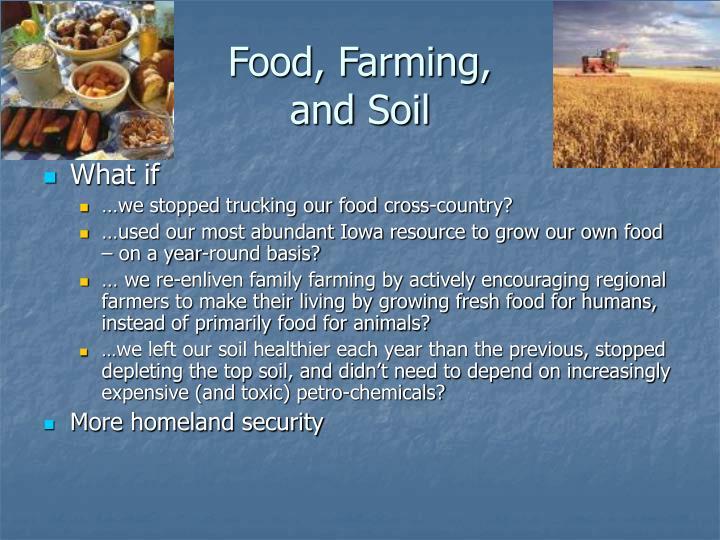 Food, Farming,