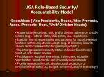 uga role based security accountability model1