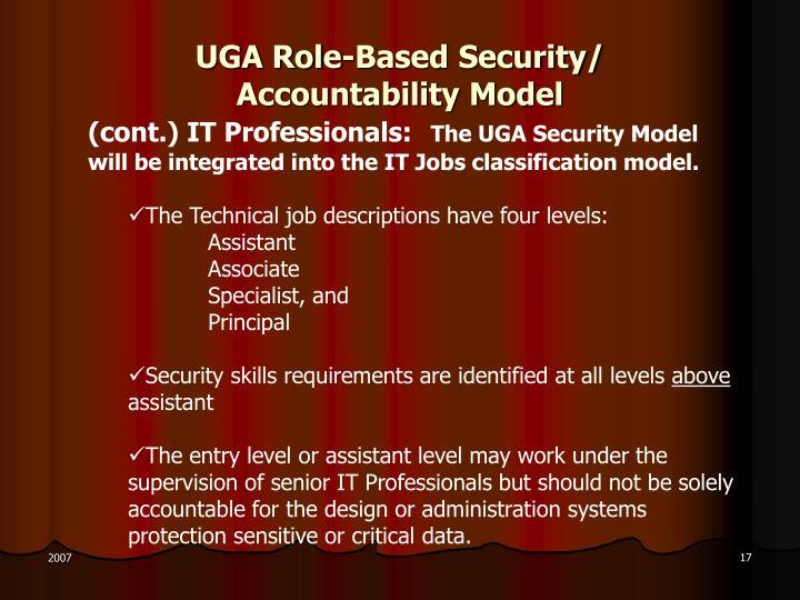 UGA Role-Based Security/