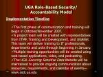 uga role based security accountability model8