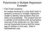 polynomials in multiple regression example