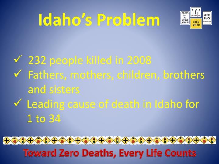 Idaho's Problem