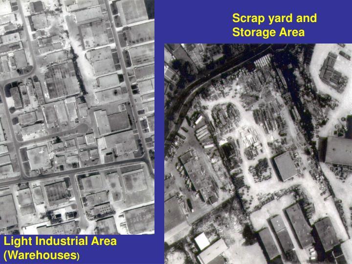 Scrap yard and