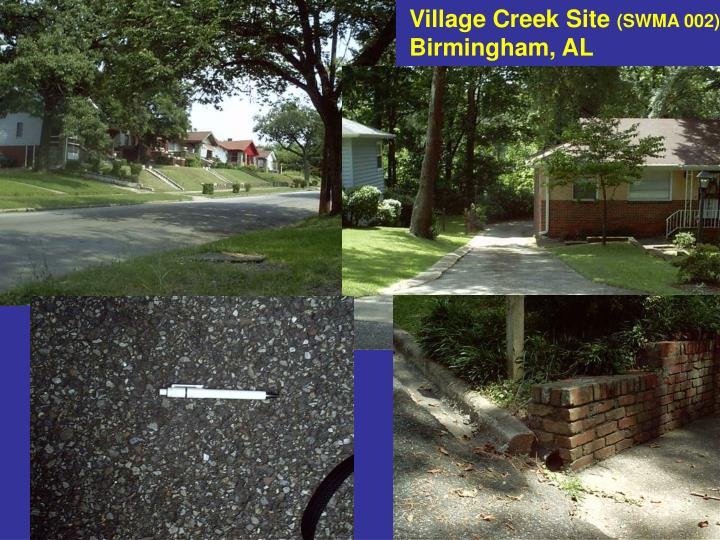 Village Creek Site