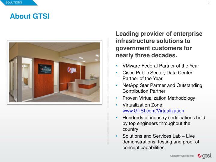 About GTSI
