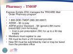 pharmacy tmop