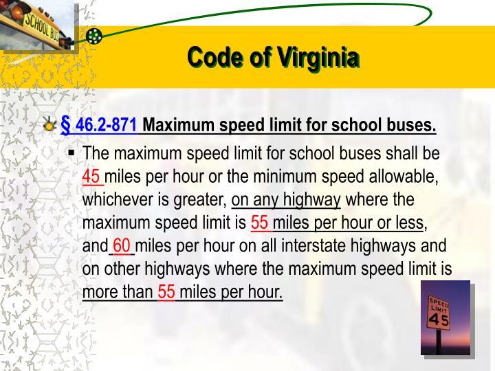 Code of Virginia