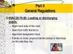 part ii general regulations4