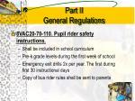 part ii general regulations6