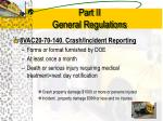 part ii general regulations8