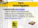 part iii general regulations1