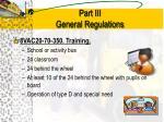 part iii general regulations5