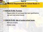part iv general requirements for school buses in virginia2