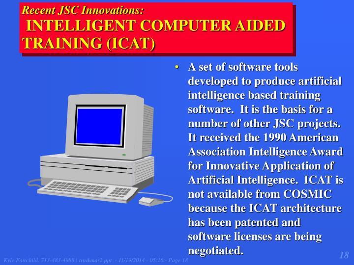 Recent JSC Innovations: