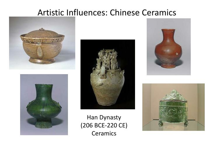 Artistic influences chinese ceramics