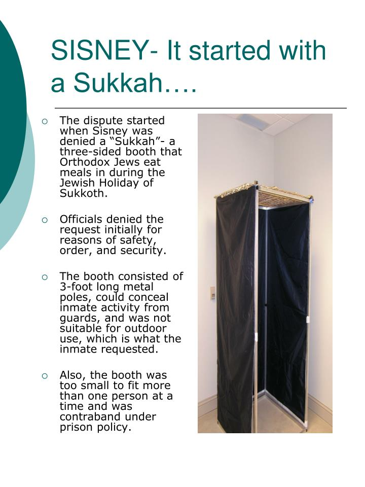 SISNEY- It started with a Sukkah….