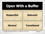 open with a buffer