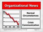 organizational news