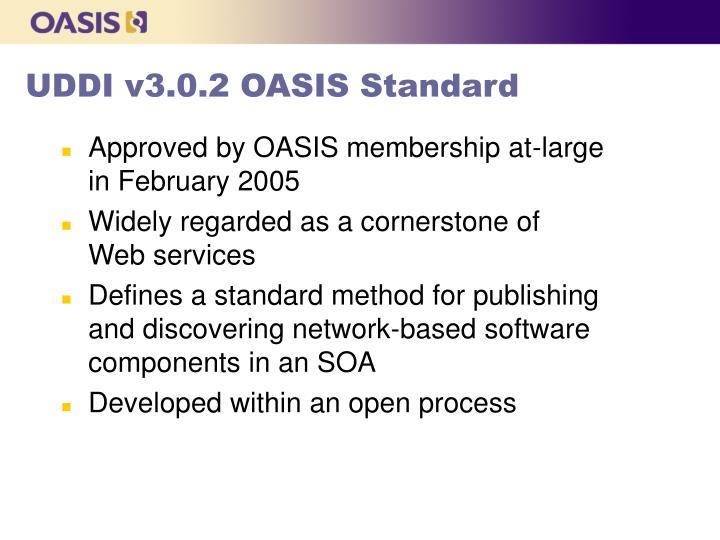 UDDI v3.0.2 OASIS Standard