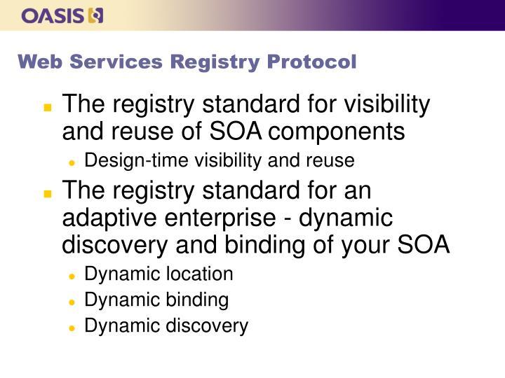 Web Services Registry Protocol