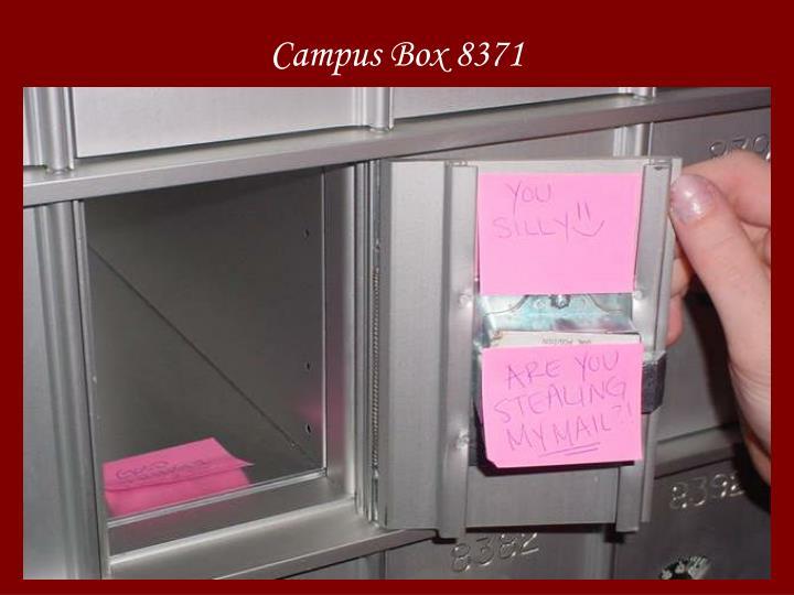 Campus Box 8371