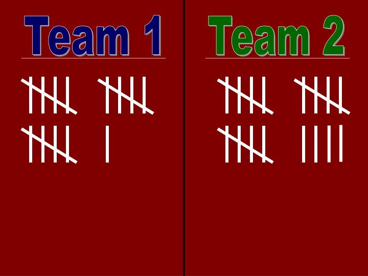 Team 1