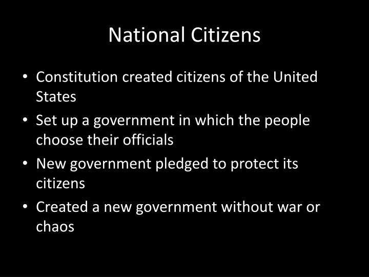 National Citizens