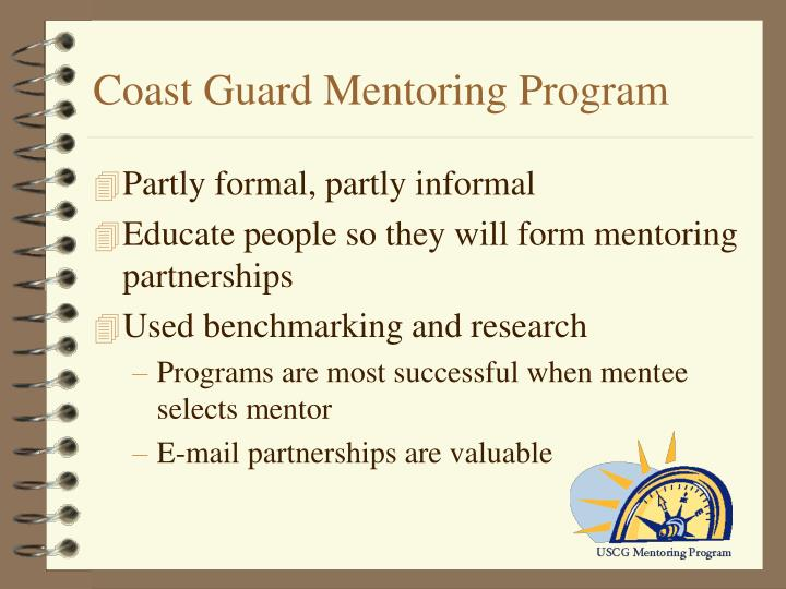 Coast Guard Mentoring Program