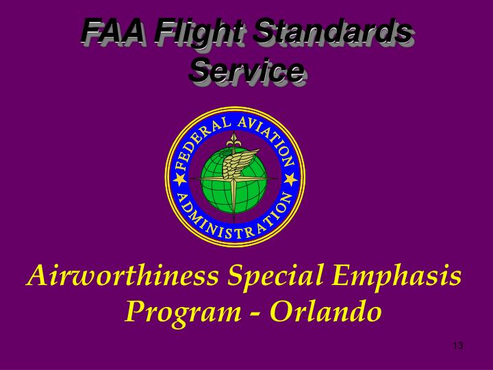FAA Flight Standards