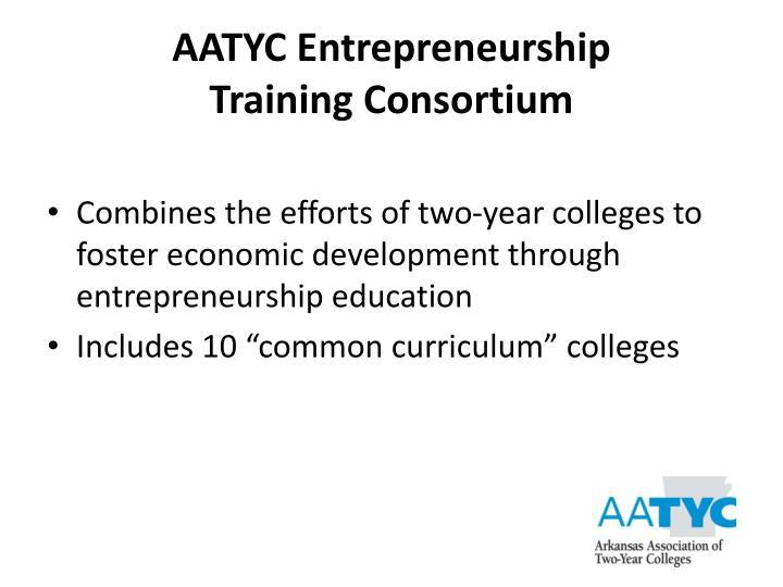 AATYC Entrepreneurship