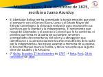 manuela s enz 8 de diciembre de 1825 escrib a a juana azurduy