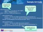 sample c code