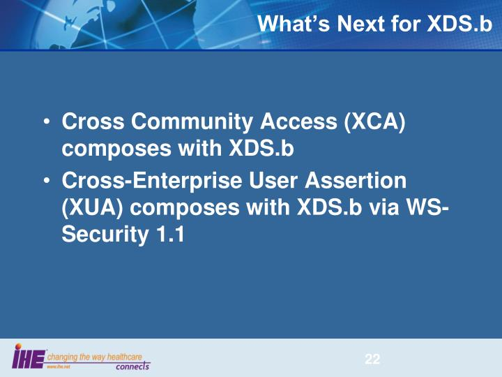What's Next for XDS.b