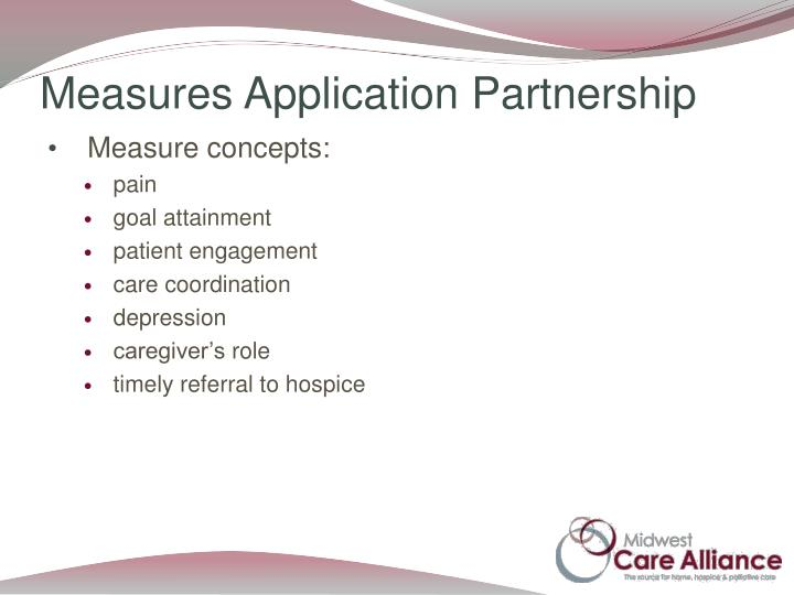 Measures Application Partnership
