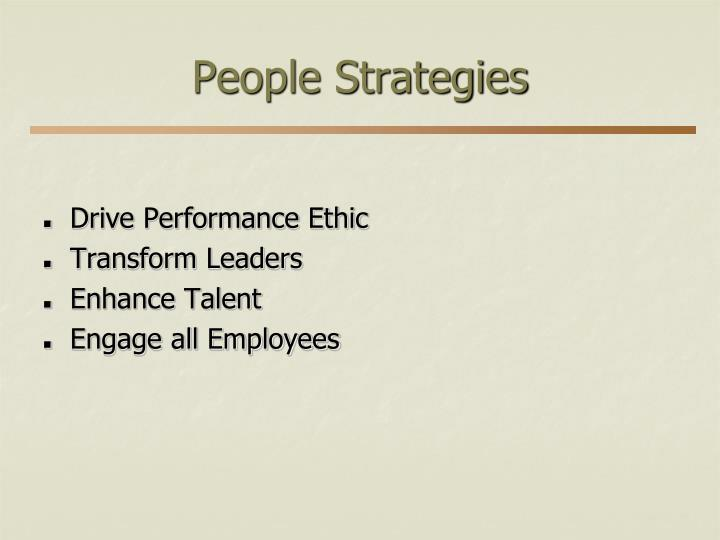 People Strategies
