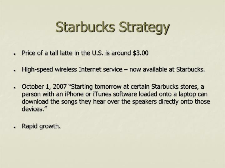 Starbucks Strategy