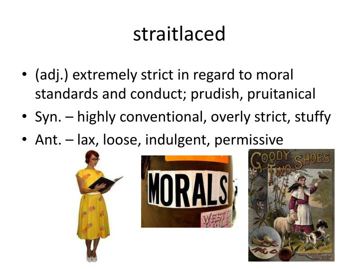 straitlaced