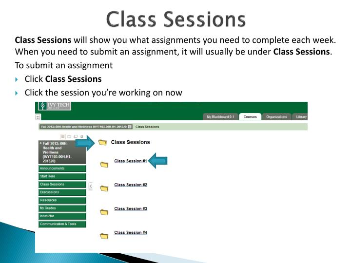 Class Sessions