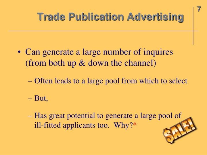 Trade Publication Advertising