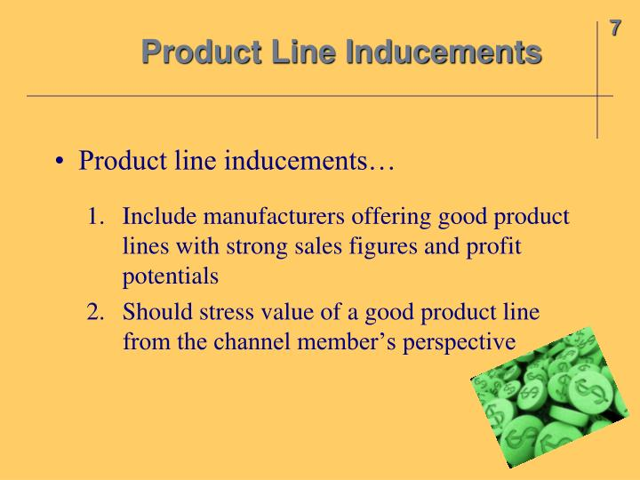 Product Line Inducements