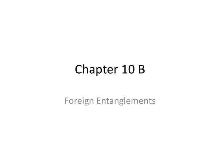 Chapter 10 b
