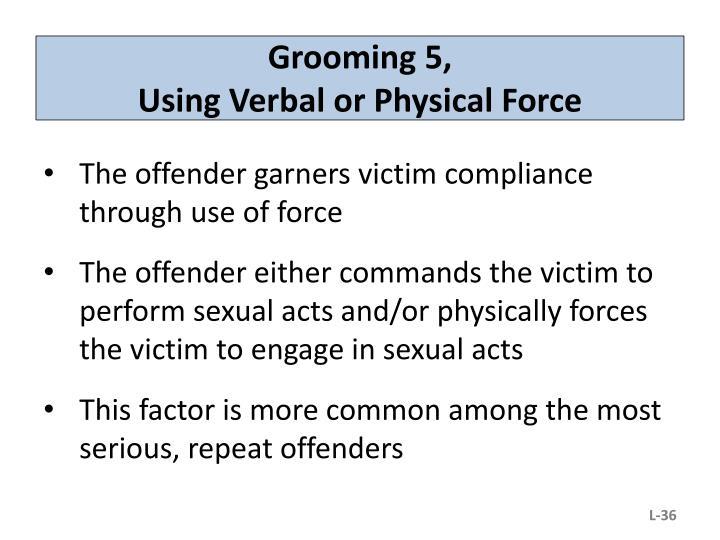 Grooming 5,