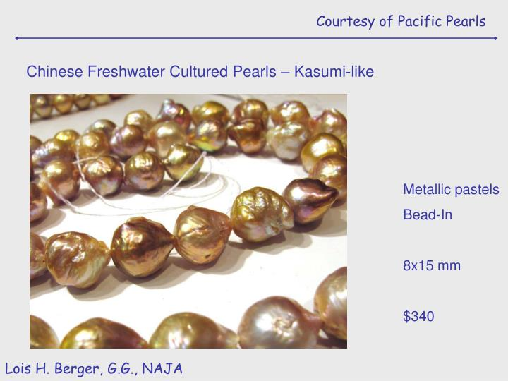 Courtesy of Pacific Pearls