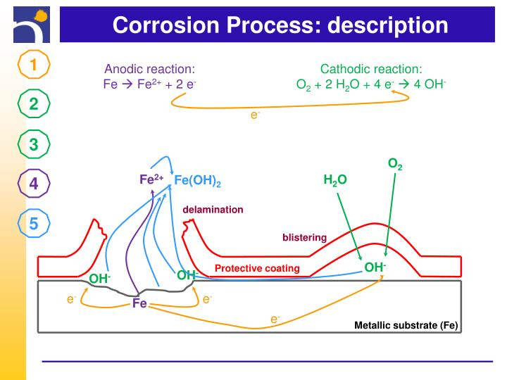 Corrosion Process: description