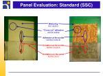panel evaluation standard ssc