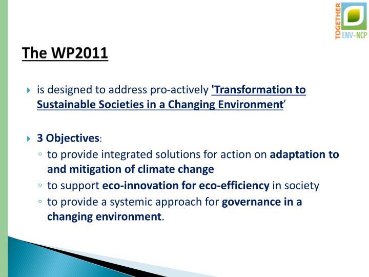 The WP2011